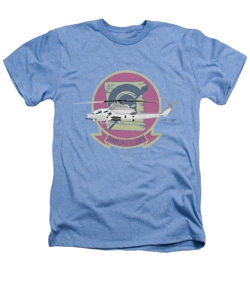 Ah-1z Viper Heathers T-Shirt by Arthur Eggers