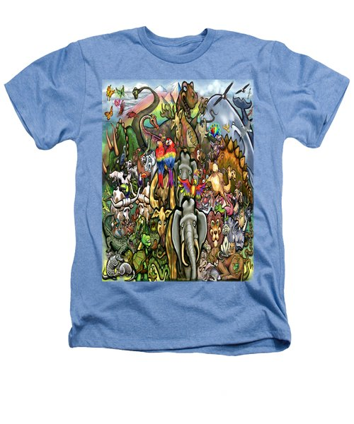 All Creatures Great Small Heathers T-Shirt by Kevin Middleton