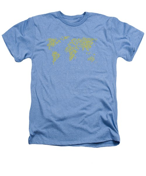 All The World Plays Tennis Heathers T-Shirt