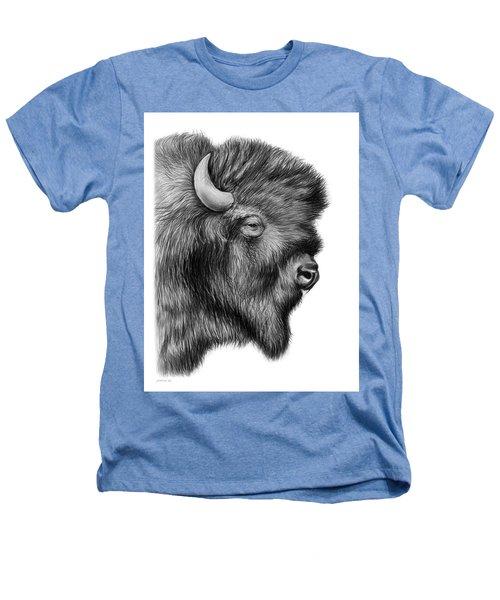 American Bison Heathers T-Shirt