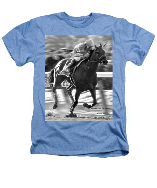 American Pharoah And Victor Espinoza Win The 2015 Belmont Stakes Heathers T-Shirt