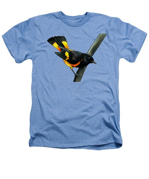 American Redstart Heathers T-Shirt