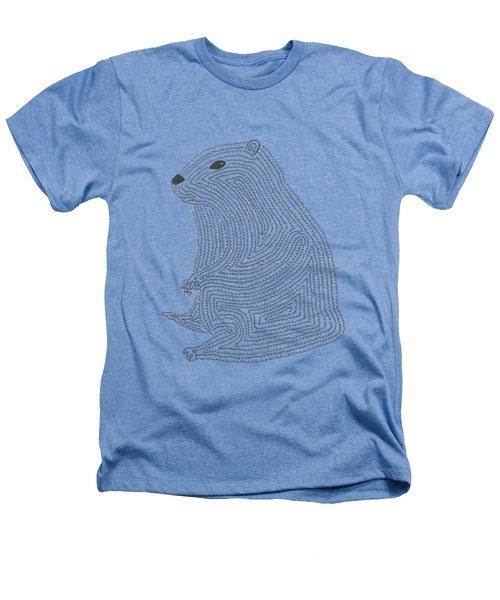 An Elusive Marmot Heathers T-Shirt by Nerea Gutierrez