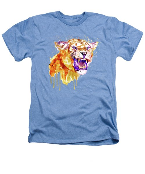 Angry Lioness Heathers T-Shirt