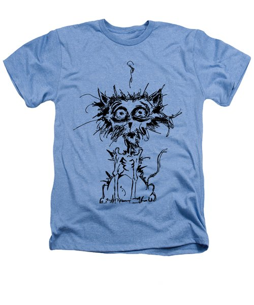 Angst Cat Heathers T-Shirt by Nicholas Ely