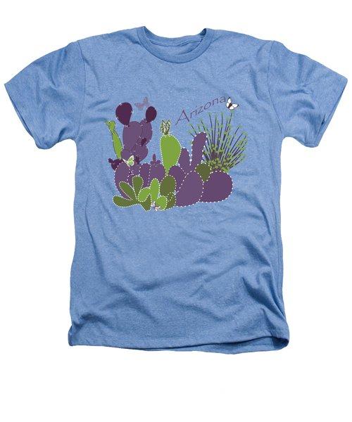 Arizona Cacti Heathers T-Shirt