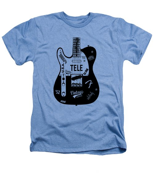 Fender Telecaster 52 Heathers T-Shirt by Mark Rogan