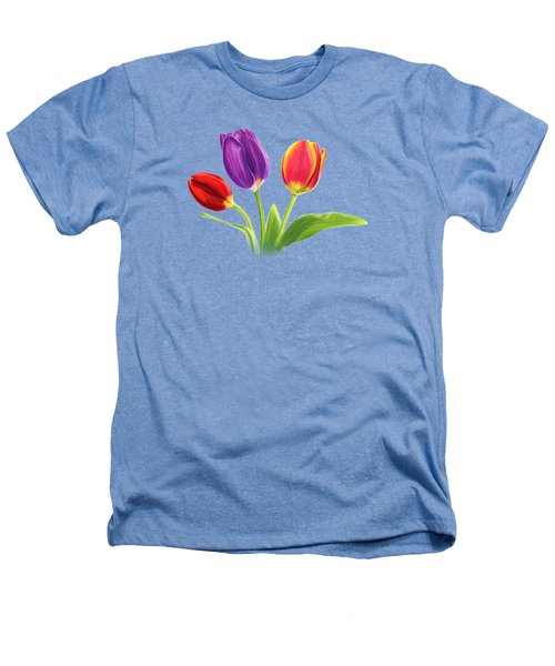Tulip Trio Heathers T-Shirt