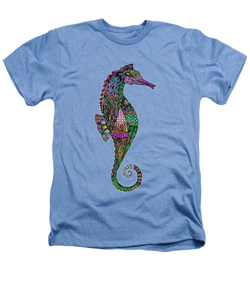 Electric Lady Seahorse  Heathers T-Shirt by Tammy Wetzel