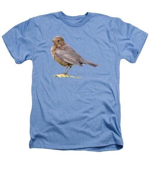 Young Blackbird  Heathers T-Shirt by Bamalam  Photography