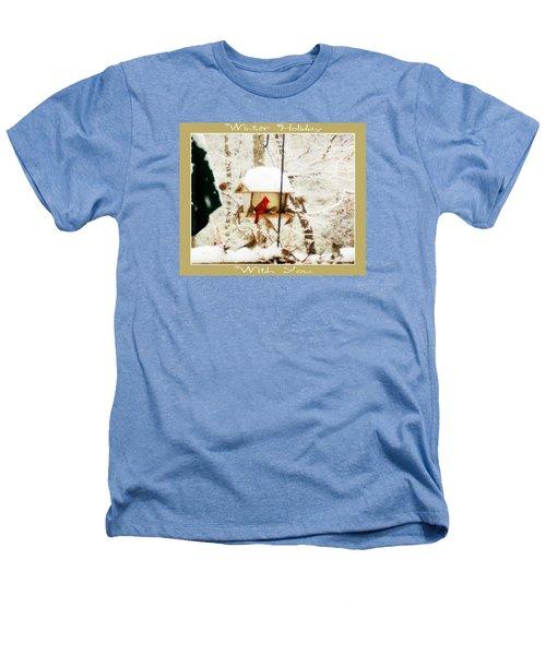Winter Holiday Heathers T-Shirt by Anita Faye