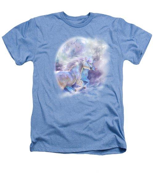 Unicorn Soulmates Heathers T-Shirt by Carol Cavalaris