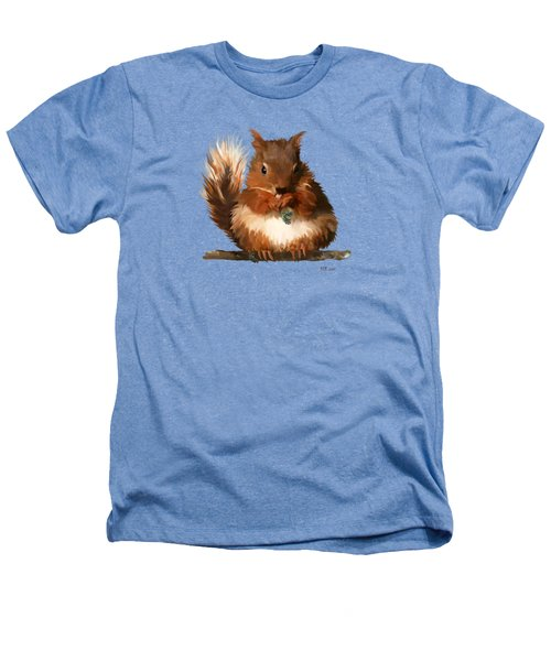 Young Squirrel Heathers T-Shirt by Bamalam  Photography