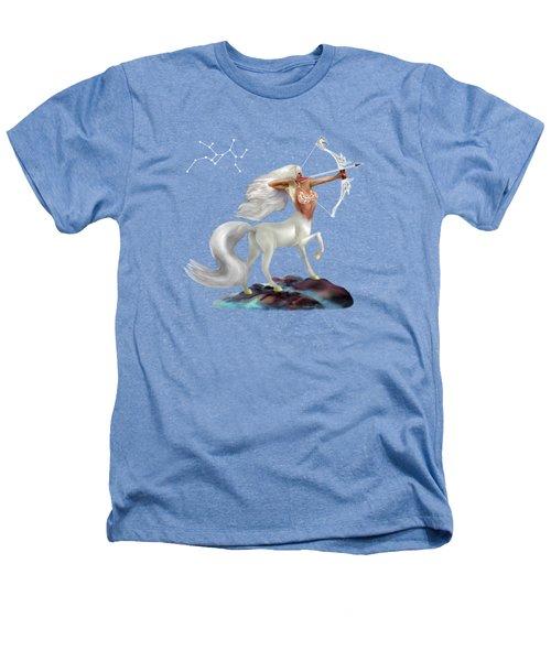 Mystical Sagittarius Heathers T-Shirt by Glenn Holbrook