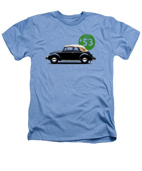 Beetle 53 Heathers T-Shirt by Mark Rogan