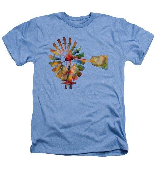 Windmill Heathers T-Shirt by Hailey E Herrera
