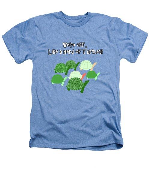 Herd Of Turtles Pattern Heathers T-Shirt
