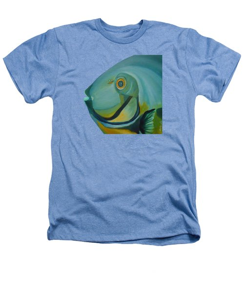 Blue Fish Heathers T-Shirt