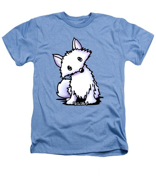 Arctic Fox Heathers T-Shirt by Kim Niles