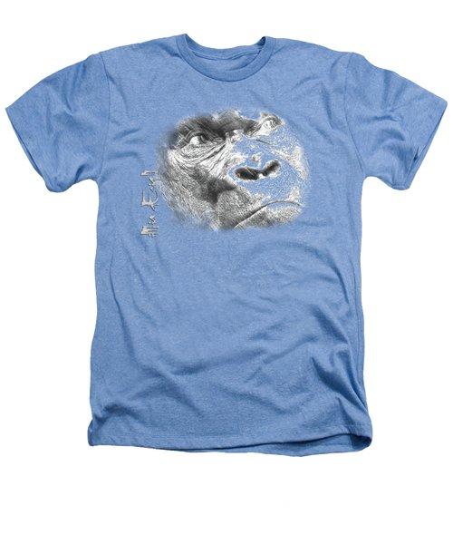 Big Gorilla Heathers T-Shirt by iMia dEsigN