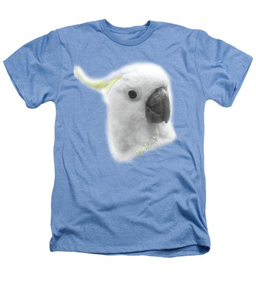 Three Cockatoos Heathers T-Shirt by iMia dEsigN
