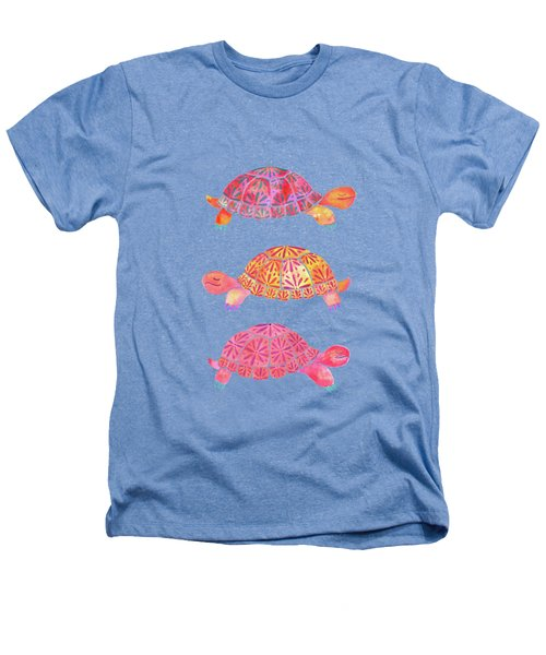 Turtles Heathers T-Shirt by Laura Vitali