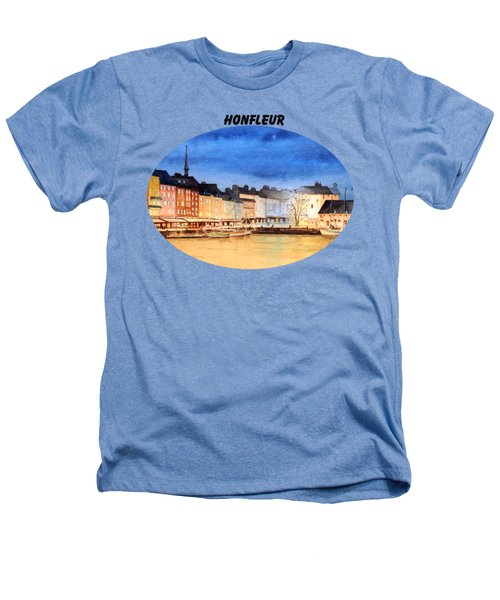 Honfleur  Evening Lights Heathers T-Shirt by Bill Holkham