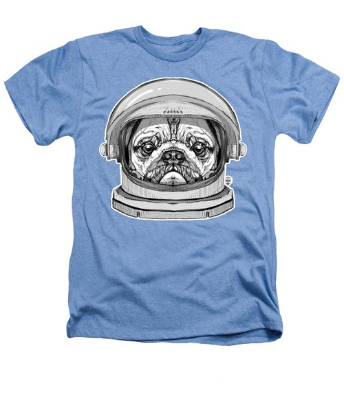 Astronault Pug Heathers T-Shirt