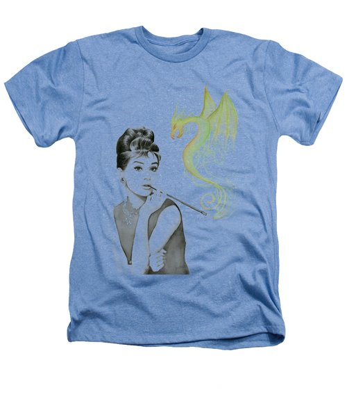 Audrey And Her Magic Dragon Heathers T-Shirt