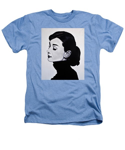 Audrey Hepburn 1 Heathers T-Shirt by Brian Broadway