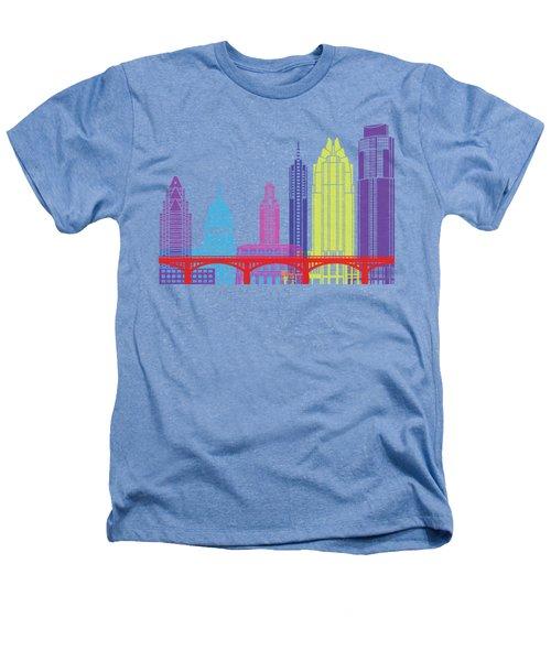 Austin Skyline Pop Heathers T-Shirt