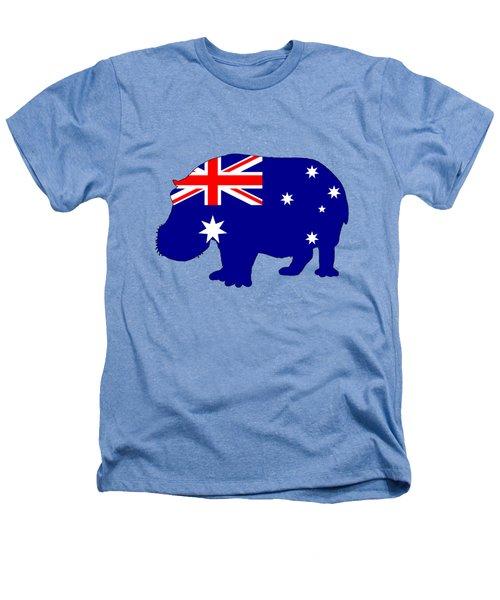 Australian Flag - Hippopotamus Heathers T-Shirt by Mordax Furittus