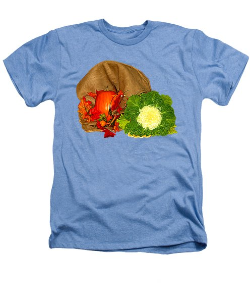 Autumn Display Expressionist Effect Heathers T-Shirt