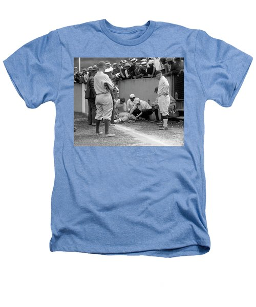Babe Ruth Knocked Out By A Wild Pitch Heathers T-Shirt
