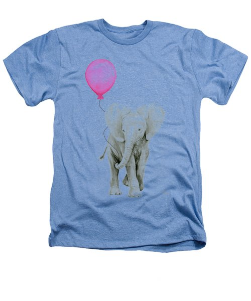 Baby Elephant Watercolor  Heathers T-Shirt
