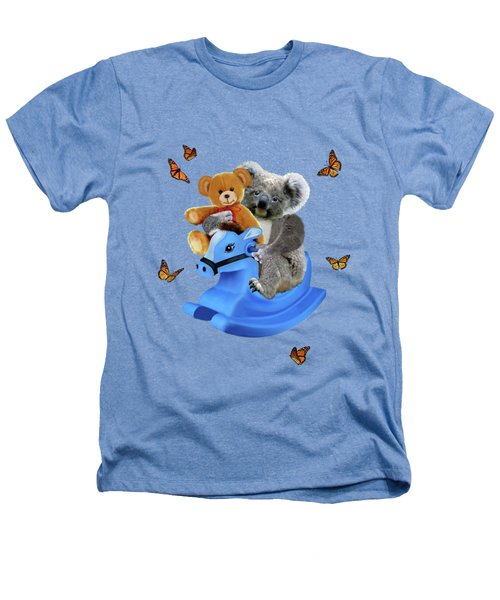 Baby Koala Bear Rocks Heathers T-Shirt