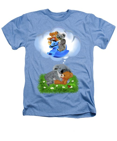 Baby Koala Dreams Heathers T-Shirt