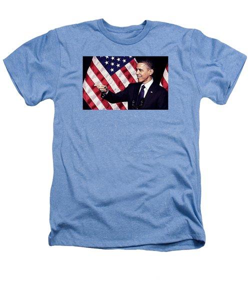 Barack Obama Heathers T-Shirt by Iguanna Espinosa