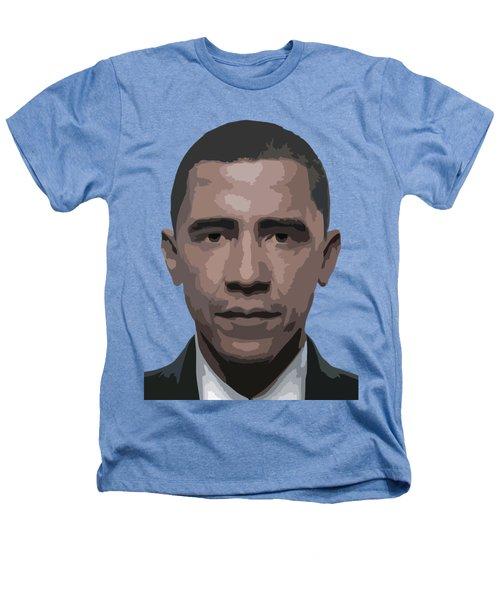 Barack Obama Heathers T-Shirt by Tshepo Ralehoko