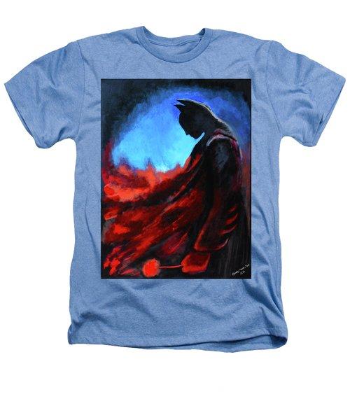 Batman's Mercy Heathers T-Shirt by Brandy Nicole Neal