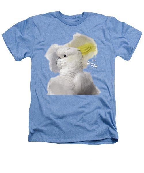Beautiful Cockatoo No 01 Heathers T-Shirt