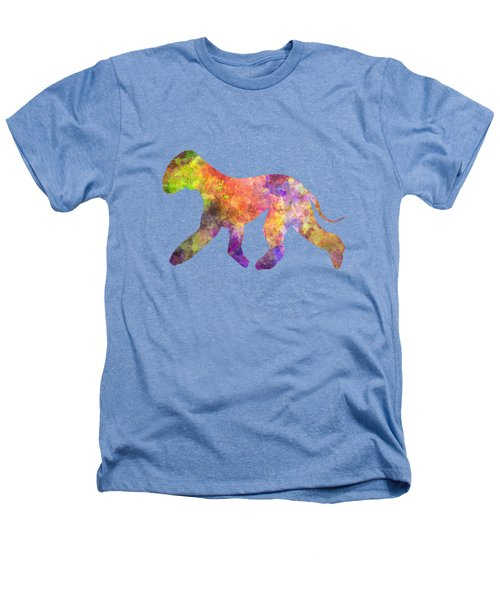Bedlington Terrier 01 In Watercolor Heathers T-Shirt by Pablo Romero