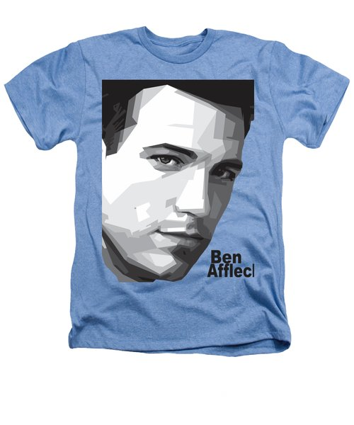Ben Affleck Portrait Art Heathers T-Shirt by Madiaz Roby