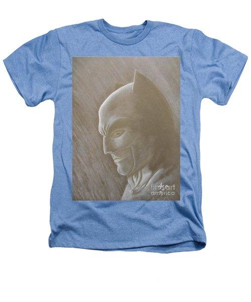 Ben As Batman Heathers T-Shirt by Josetta Castner