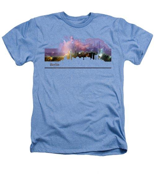 Berlin 2 Heathers T-Shirt by Alberto RuiZ
