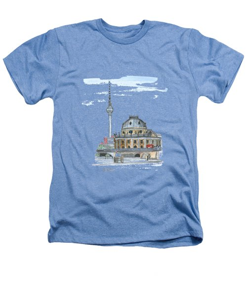 Berlin Fernsehturm Heathers T-Shirt by Petra Stephens