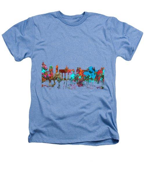 Berlin Germany Skyline  Heathers T-Shirt by Marlene Watson