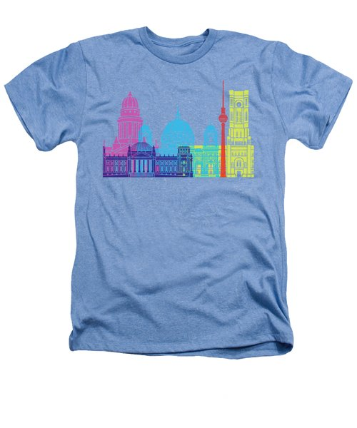 Berlin V2 Skyline Pop Heathers T-Shirt