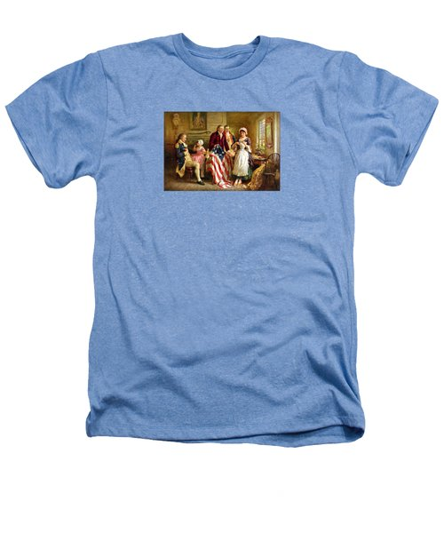 Betsy Ross And General George Washington Heathers T-Shirt by War Is Hell Store