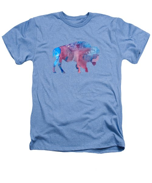 Bison Silhouette Heathers T-Shirt